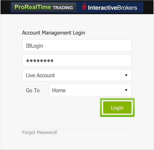 interactive brokers test account halten sie an kryptowährung oder tageshandel fest